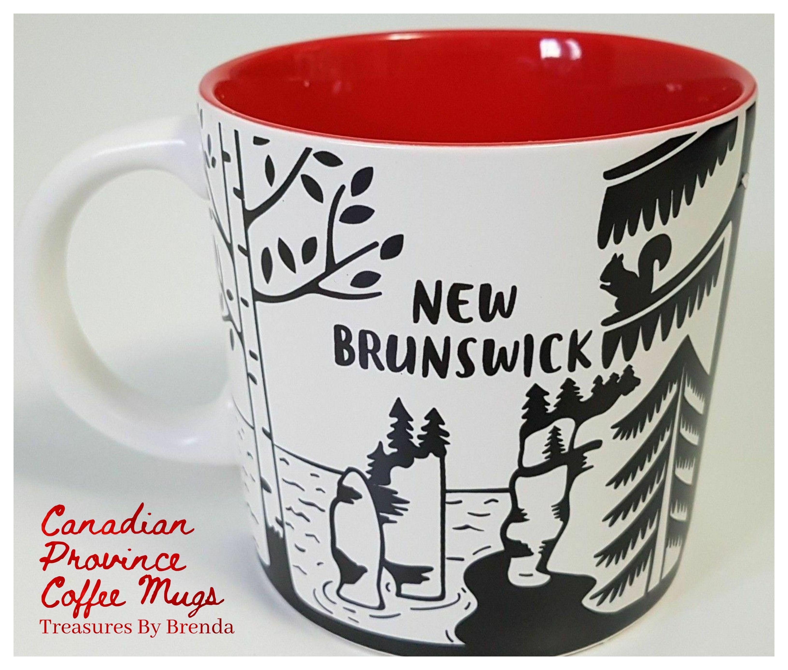 Canadian Province Coffee Mugs New Brunswick in 2020