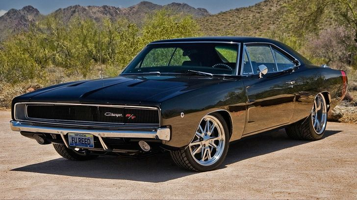 Muscle Cars Dodge Charger Rt Classic Cars Widescreen Magnum