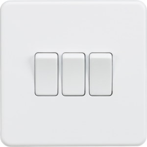 Light Switches Screwless Matt White Wall Mounted Light Light Switch Wall Mounted Fan