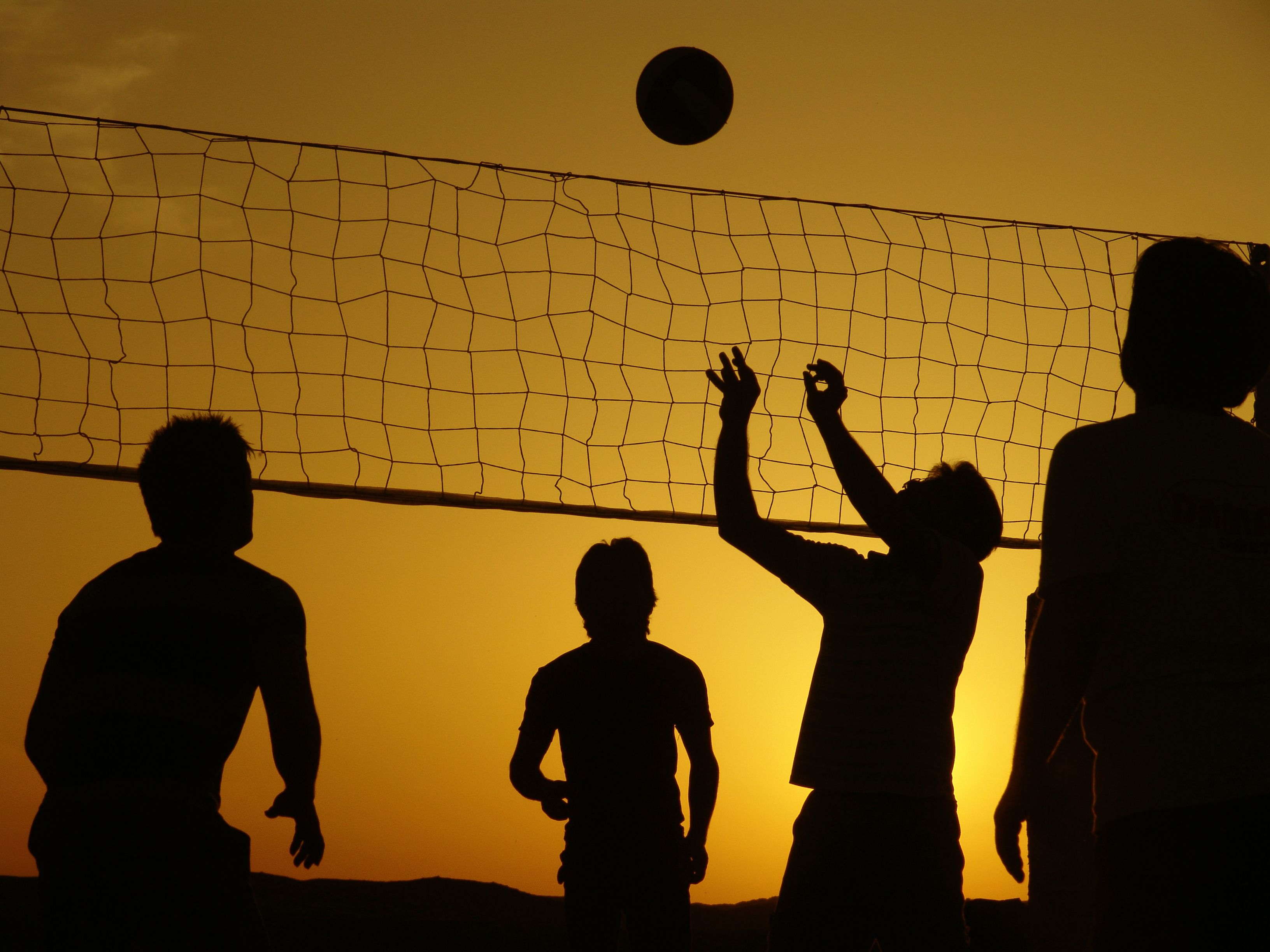 Wikipedia Featured Picture Candidates Silhouette Volleyball Jpg World Sports News Volleyball Clubs Volleyball