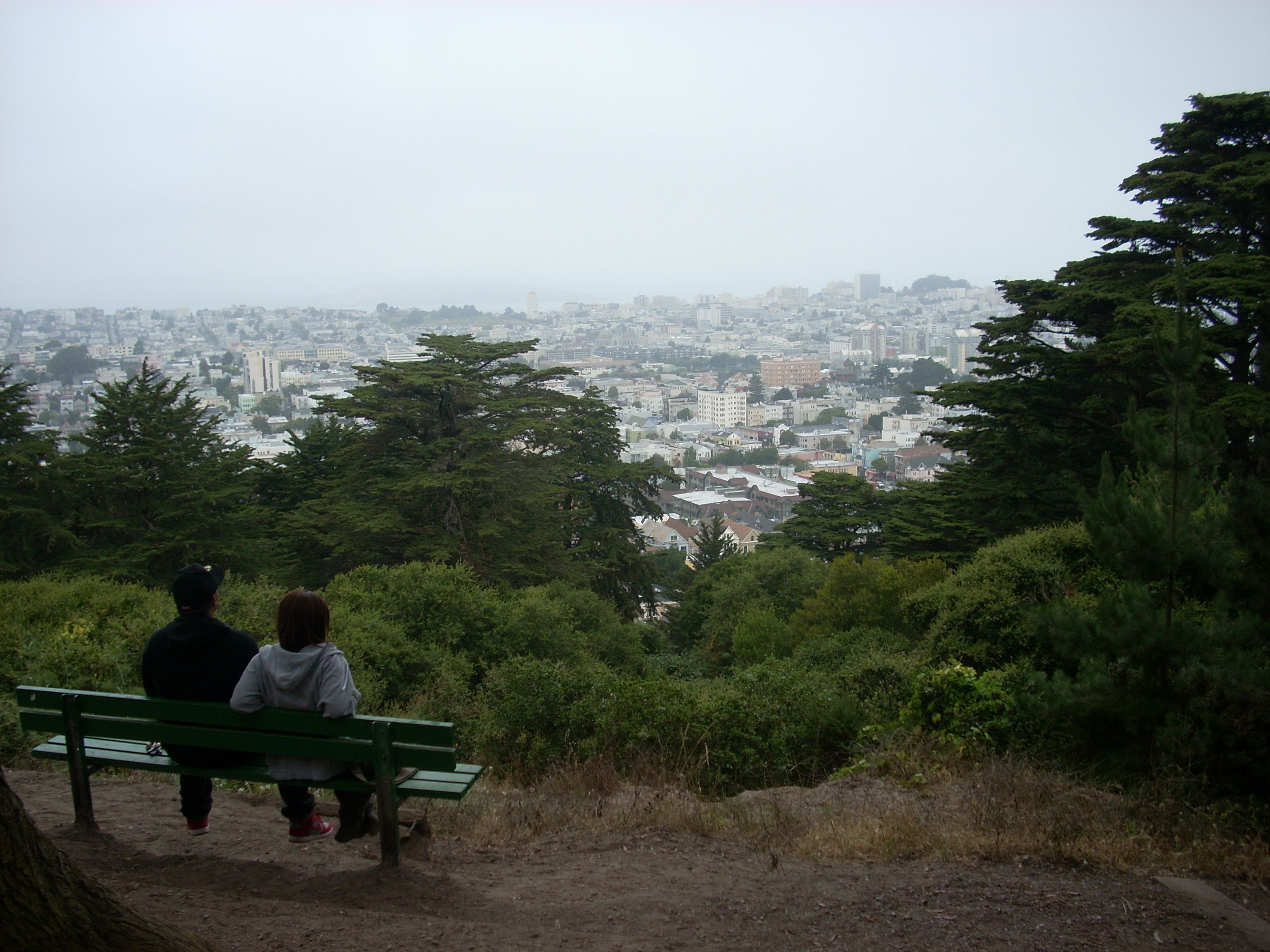 Buena Vista Park, San Francisco, California Great Views From That