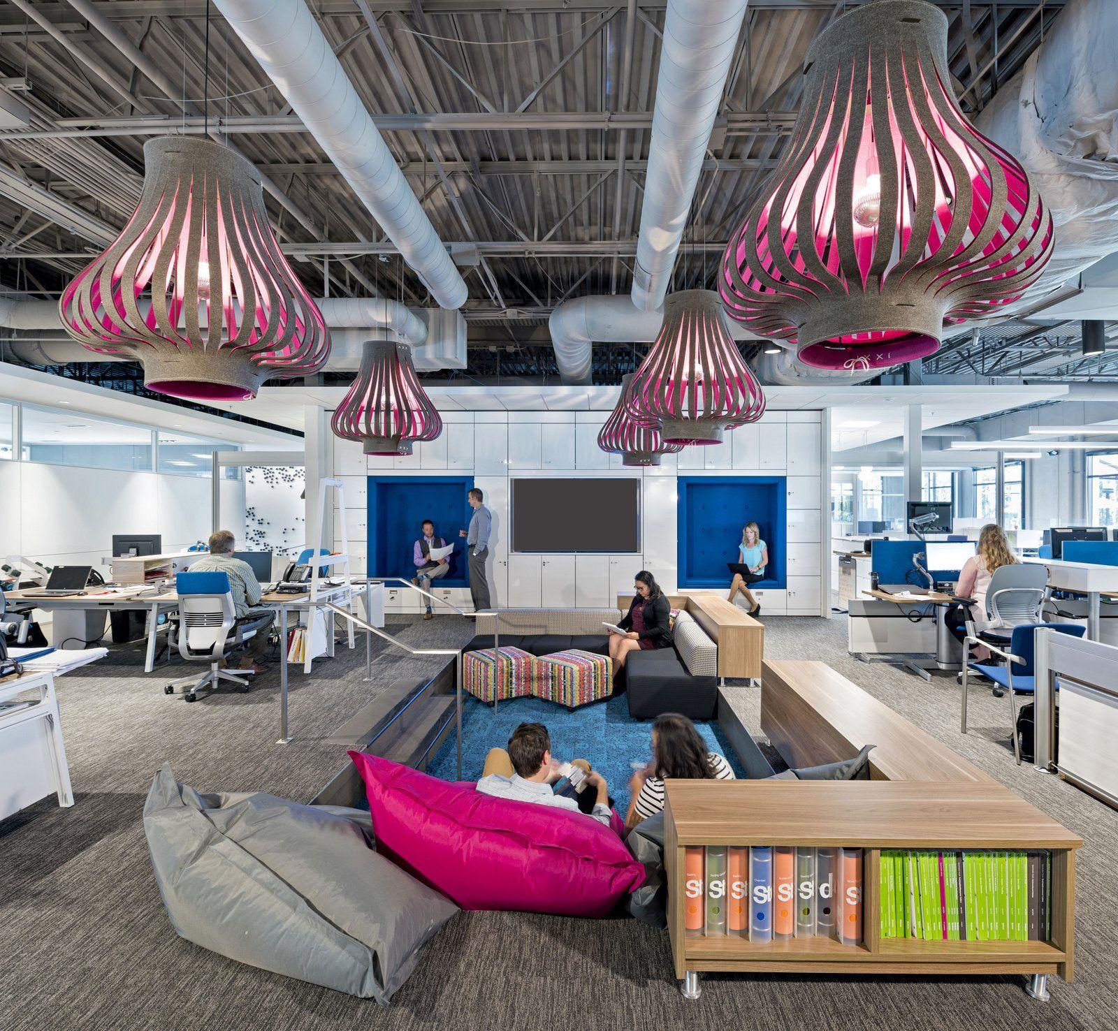 Crimson Circle Studio Creative Spaces: BKM Headquarters And Showroom