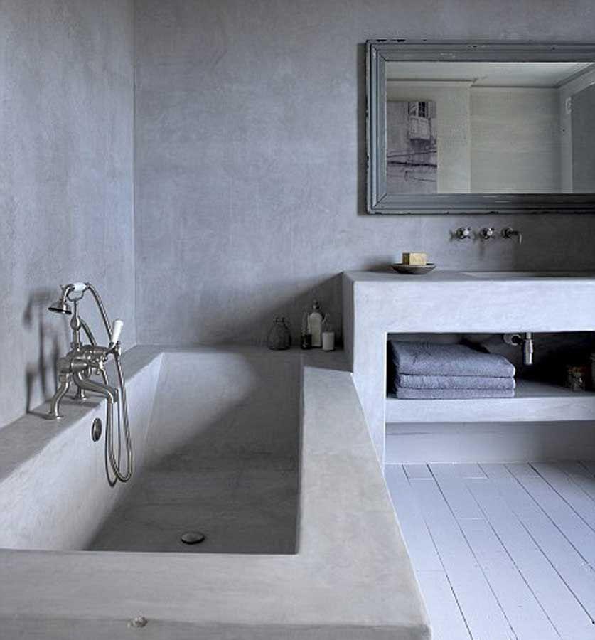 microcemento opaco per bagno | Bagno interno, Bagno caldo ...