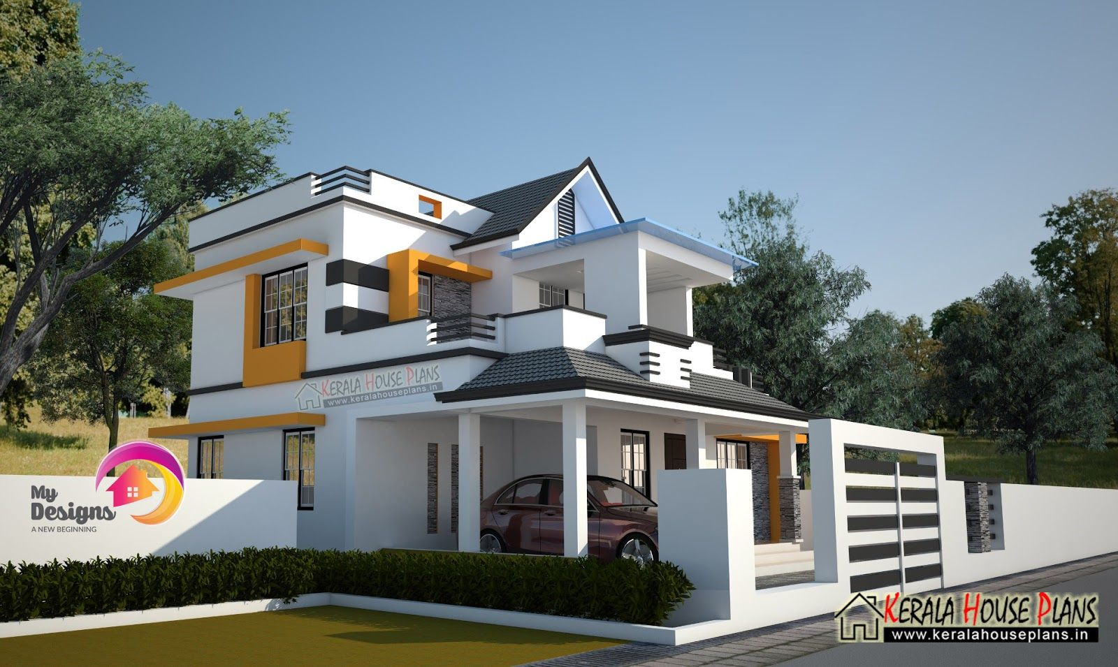 Kerala house plans elevation floor plankerala home