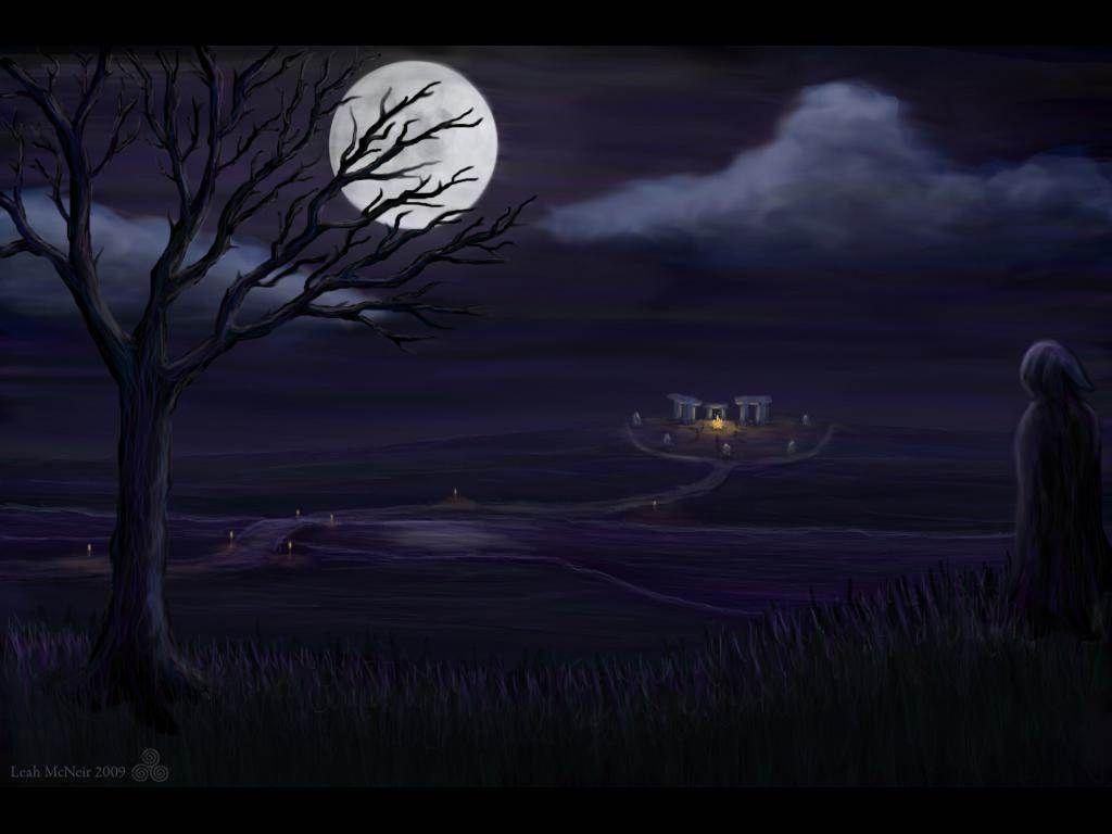 Pagan Samhain Wallpaper