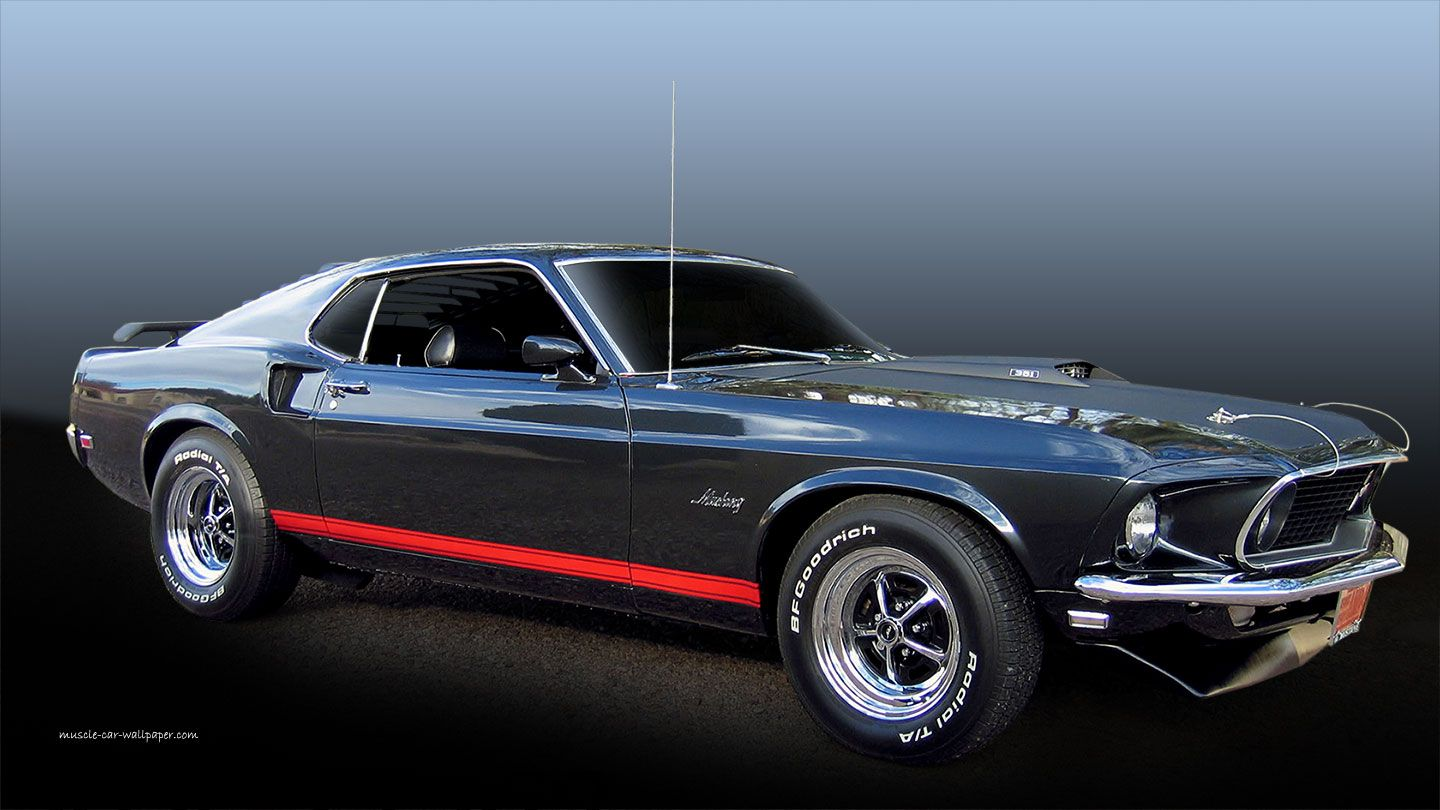 1969 Mustang Gt Ford Mustang Ford Mustang Wallpaper Ford Sport