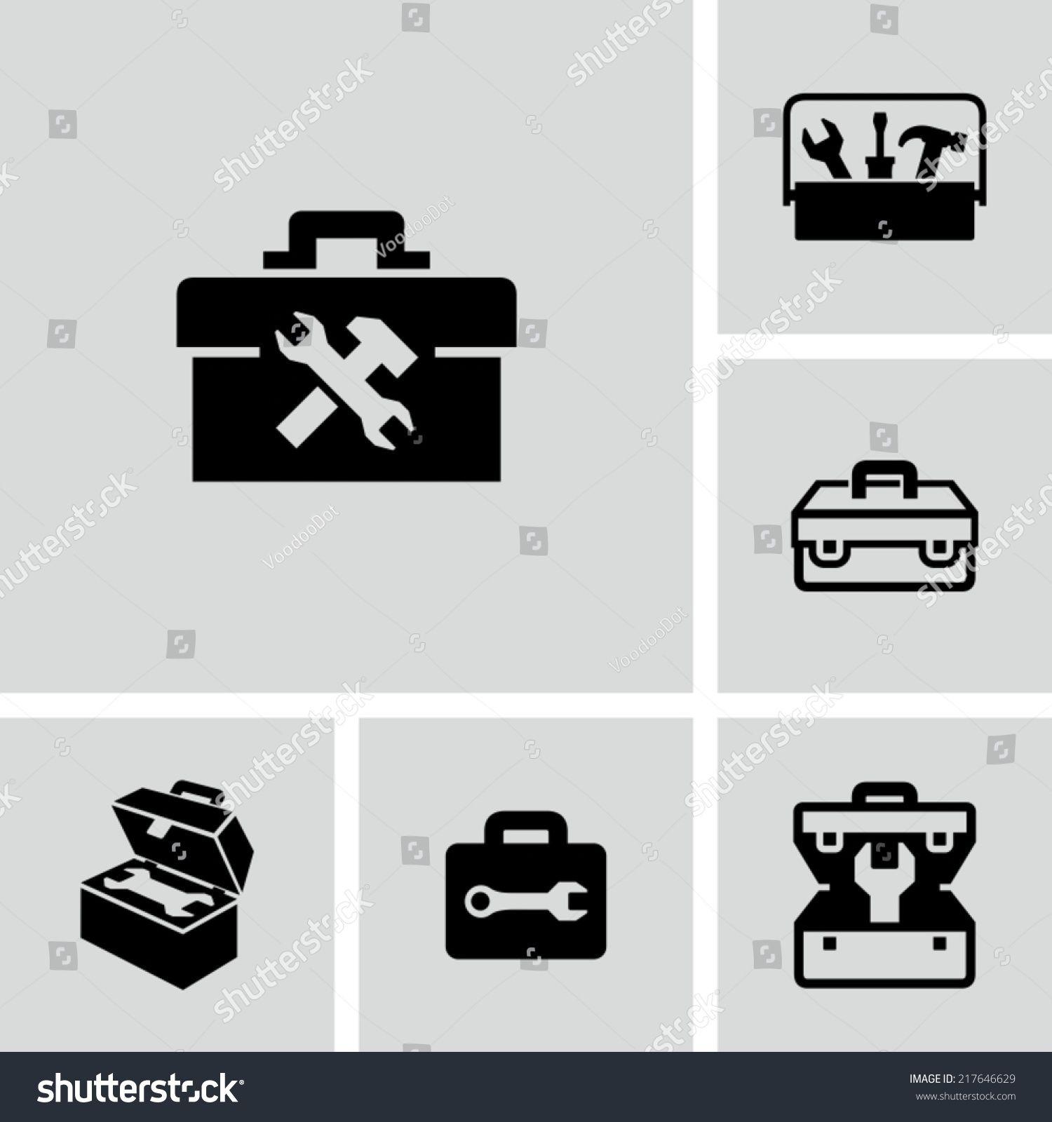 Toolbox Icon Sponsored Affiliate Toolbox Icon Logo Design Tool Box Travel Illustration