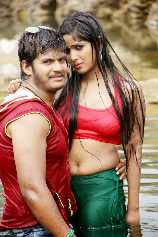 Actress Hridaya Latest Hot Wet Photos Gallery From Okkaditho Modalaindi Telugu Movie