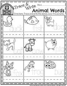 spring preschool worksheets worksheets homeschool and animal habitats. Black Bedroom Furniture Sets. Home Design Ideas