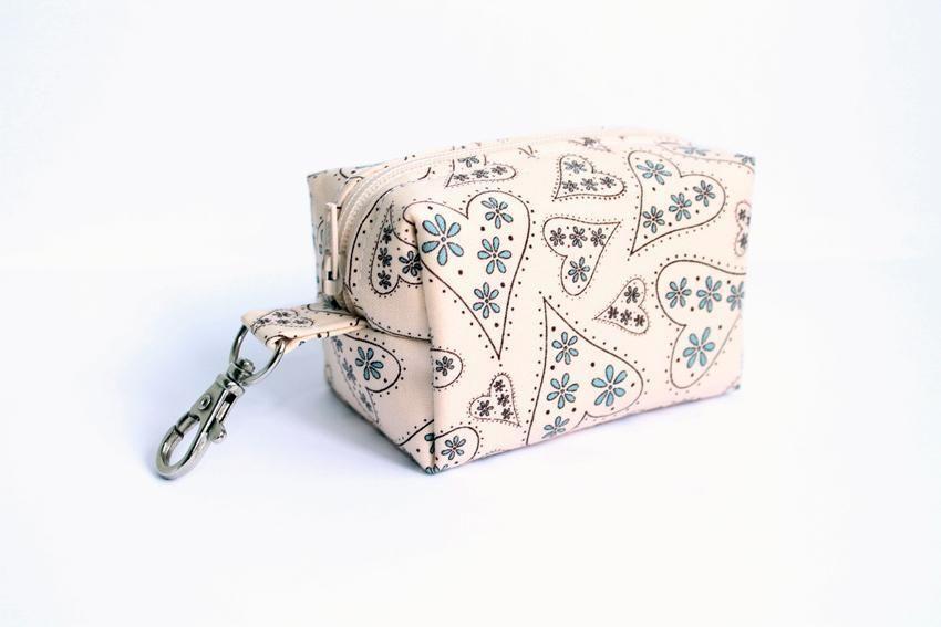 box make up bag, ... by supercutestore | Sewing Pattern | Sewing ...