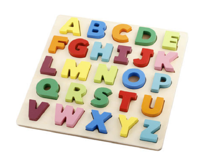 The Best 2020 Educational Toddler Toys From Kmart Learning The Alphabet Wooden Alphabet Puzzle Educational Toys For Toddlers