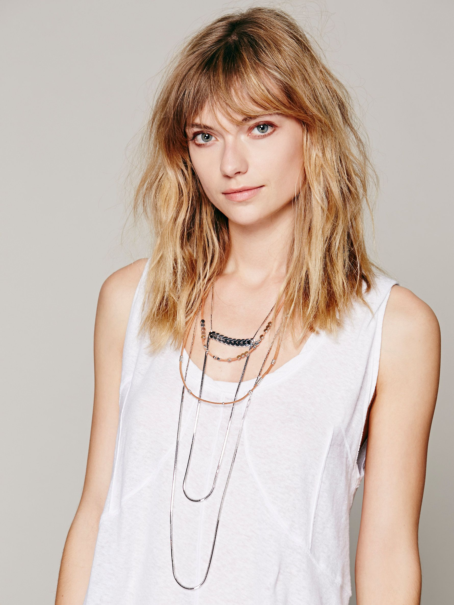 Free People Groupie Layered Necklace, €111.42