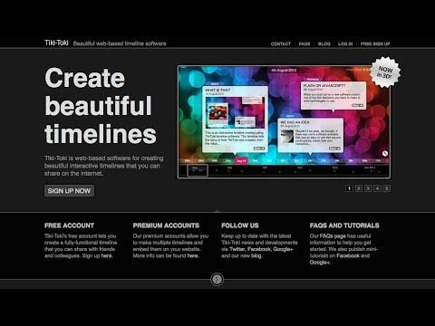 Introduction To Tiki Toki Timelines Interactive Timeline Tiki Toki Timeline Software