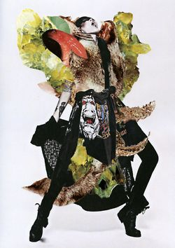Vision Magazine    Fashion collaboration project with photographer Yin Chao and Editor Ujin Zhao for Chinese fashion magazine Vision. These collages are inspired by the work of the late Lee Alexander McQueen for a special edition issue about this talented fashion designer. Ashkan Honarvar has incorporated different aspects in this series that relate with the work of Lee Alexander McQueen. Like the fascination with animals and motion, but also showing contradictions between strength and…
