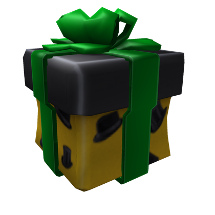 Opened Gift Of The Halloween Fedora A Hat By Roblox Roblox Updated 10 15 2013 4 31 49 Pm Roblox Gifts Roblox Roblox Roblox