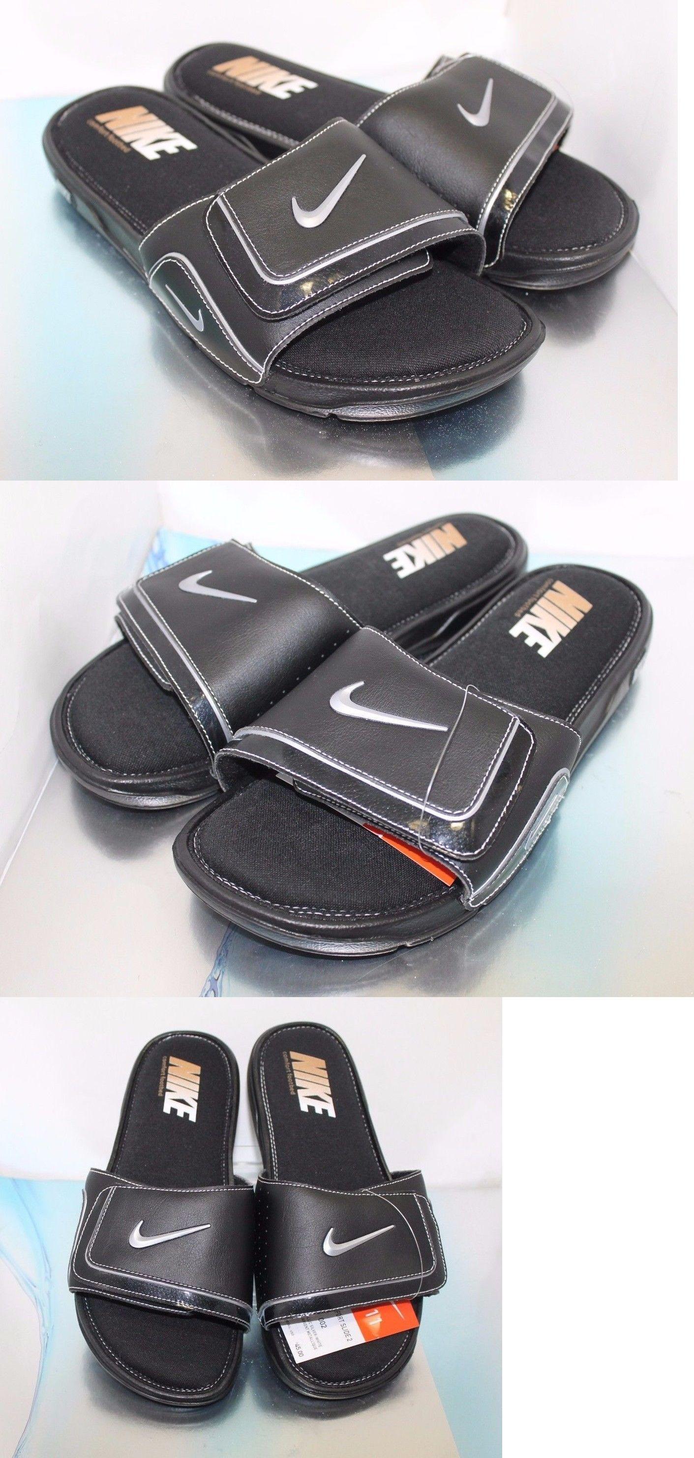 70052b7383565 Sandals and Flip Flops 11504  Men S Nike Comfort Slide 2 - Size 11 Us -   BUY IT NOW ONLY   49.49 on eBay!