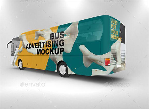 20 Advertising Mockups Free Pdf Psd Format Download In 2021 Advertising Bus Advertising Bus