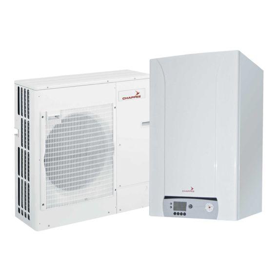 Pompe a chaleur air eau�Eria Electrique EM et ET - Chapp�e