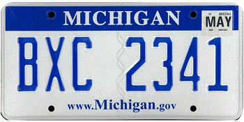 Michigan State License Plate This Is The Official For Of As It Has Been Officially Adopted By Legislature