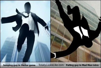 Jumping Guy in The Vector Game Totally Looks Like Falling Guy in ...