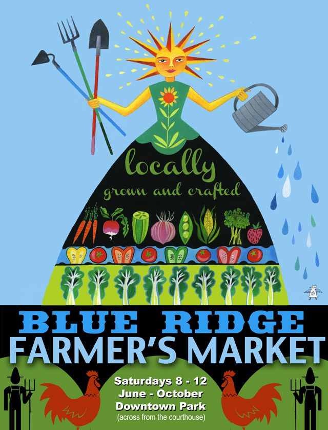 2012 farmers market poster | Sign art