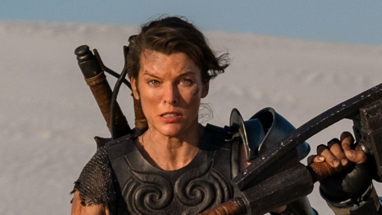 Monster Hunter Movie First Photo Revealed Ign News Check Out Milla Jovovich As Natalie Artemis A Character Not Monster Hunter Movie Tony Jaa Milla Jovovich