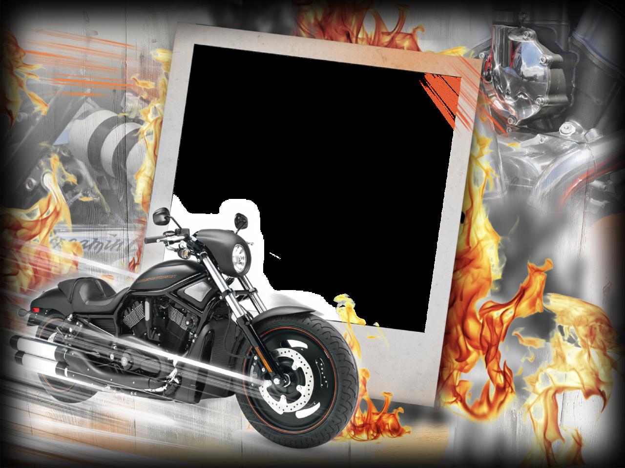 Photo-Frame-for-Men-Harley-Davidson.png (1280×960)   Frames ...