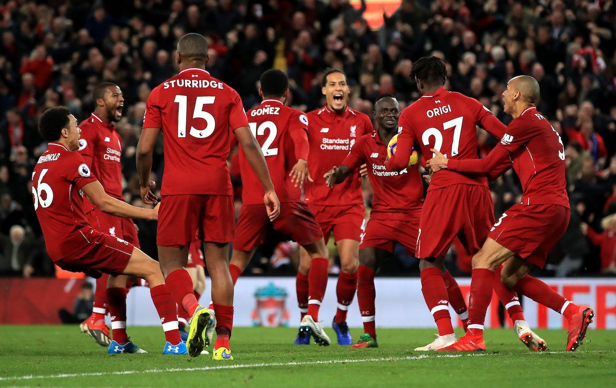 Pin on Liverpool 2018 moments