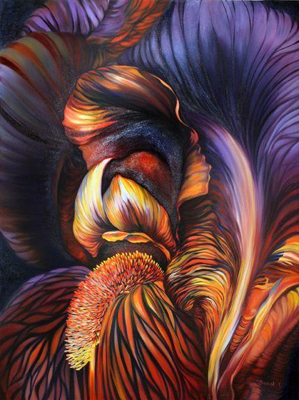 soon y warren | Art of Soon Y. Warren | Art / Delightful & Fantastic Mix | Pinterest