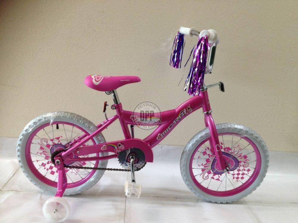Micargi Bicycles 16 Inch Kiddy Bike Pink Nib Kids Bike Kids Bike Bike Bicycle