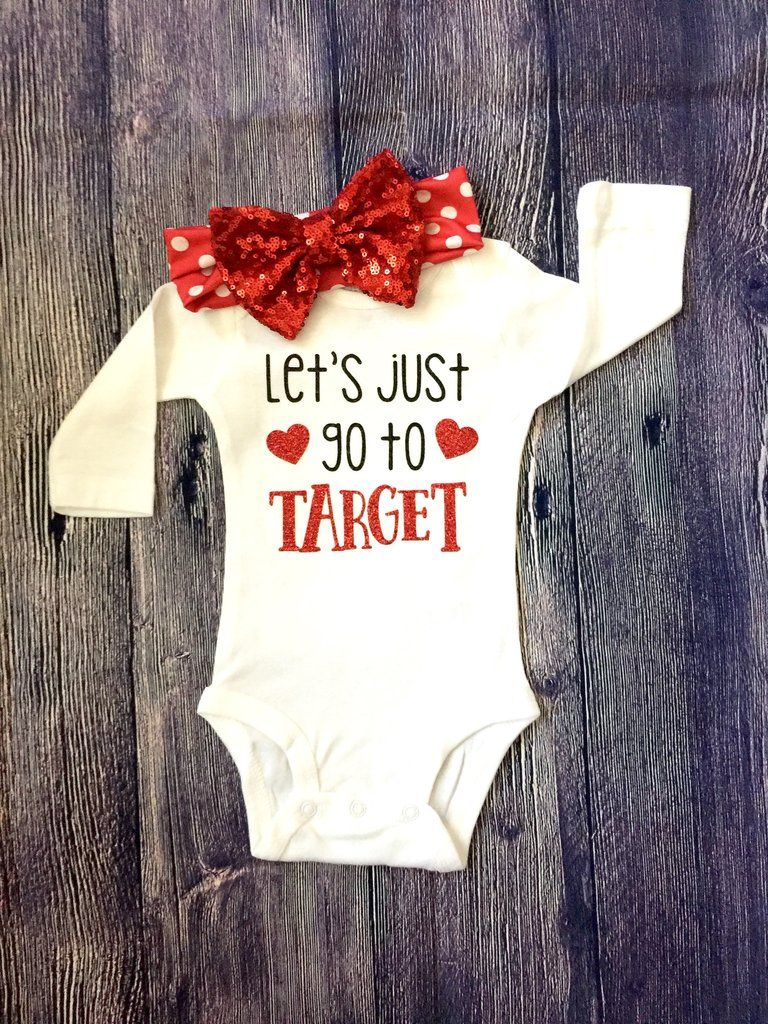 f0f04c2f8 Let's Just Go To Target Baby Girl Outfit | Baby