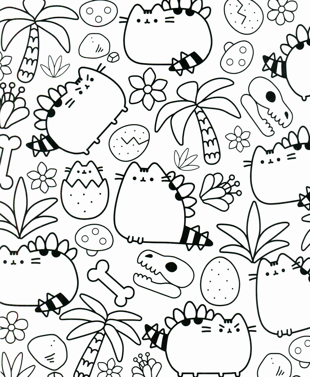 Printable Pusheen Coloring Pages Luxury Pusheen Coloring Book Pusheen Pusheen The Cat Pusheen Coloring Pages Unicorn Coloring Pages Coloring Pages