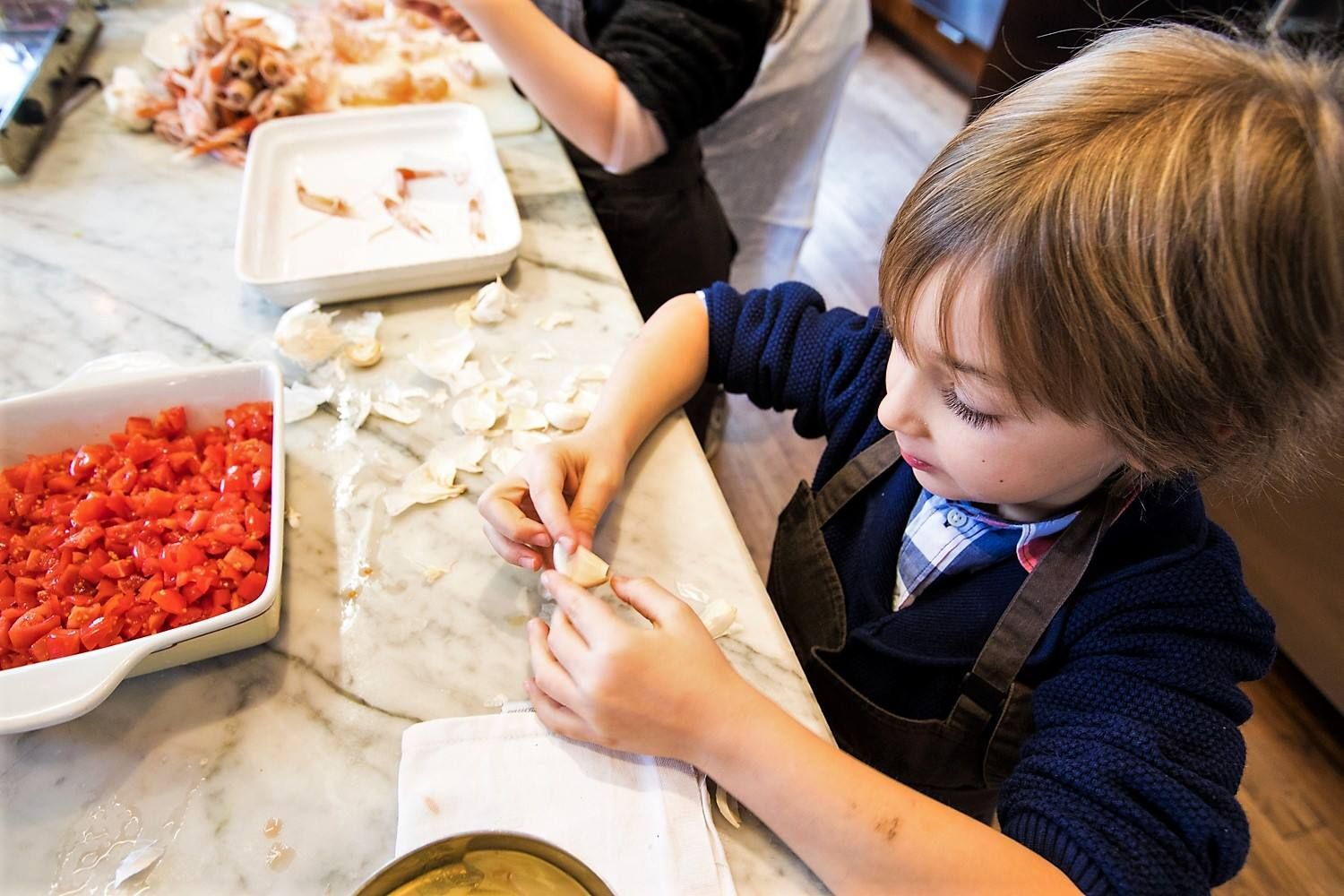 Cookingclass for children and adults will be hold by