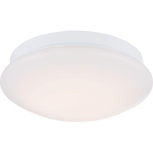 Zip White One-Light LED Flush Mount