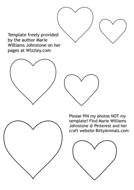 How To Make Felt Hearts More