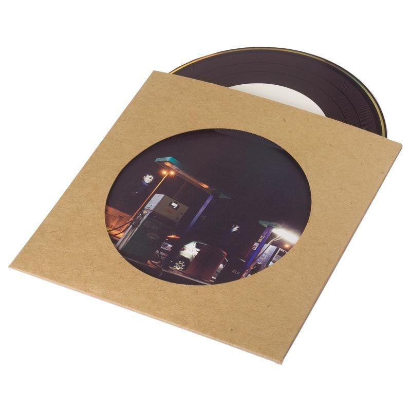Extrêmement Pochette CD single en carton kraft avec fenêtre | Pochette CD  SF14