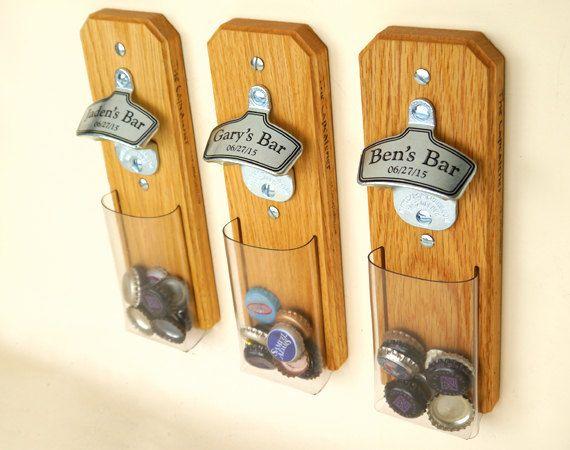 Bottle Cap Catcher Groomsmen Gifts 1 Personalized