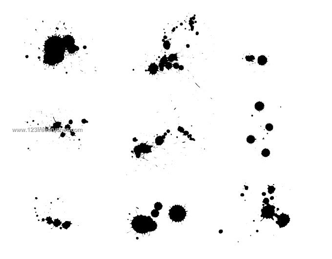 Split Splatter Download Photoshop Brush Https Www
