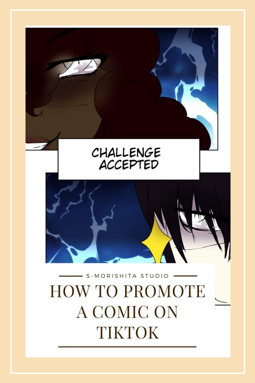 How To Start A Webtoon Comic Promoting On Tiktok Webtoon Comics Comic Tutorial Digital Art Supplies