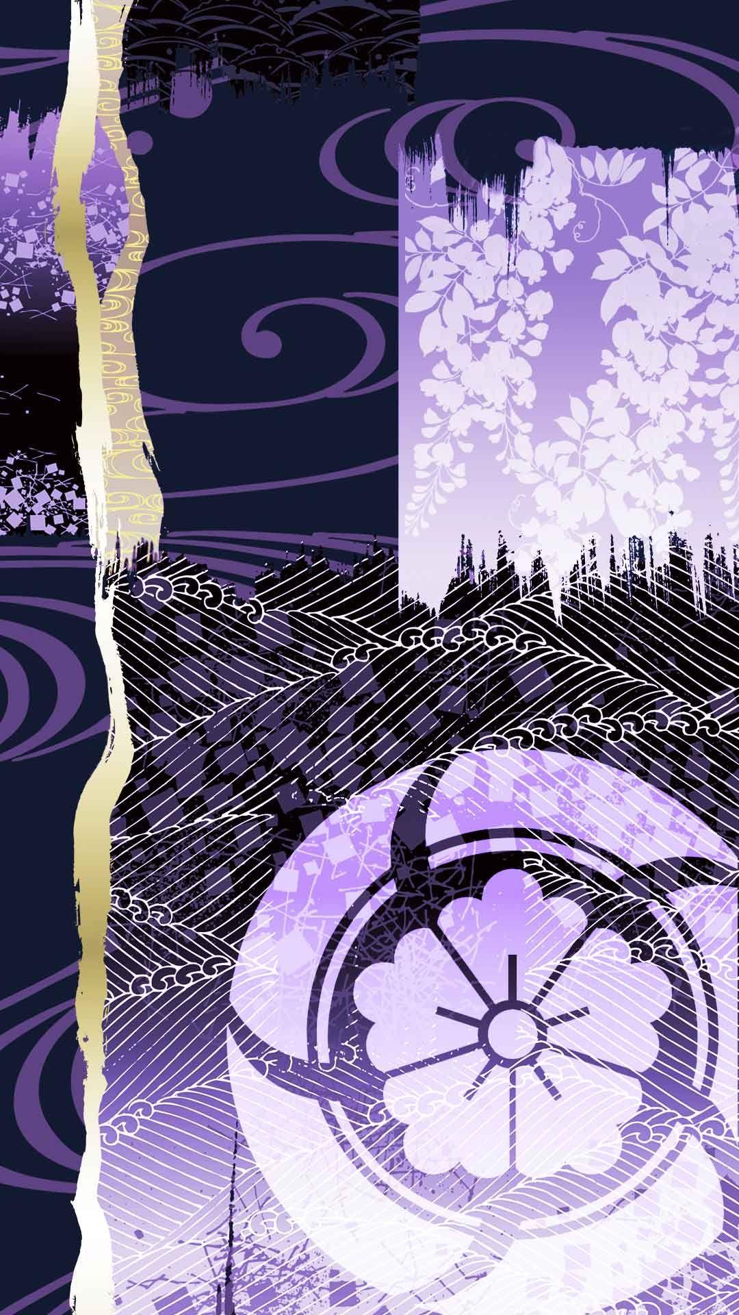 和柄 和柄 壁紙 日本 伝統 模様 刀剣乱舞 紋