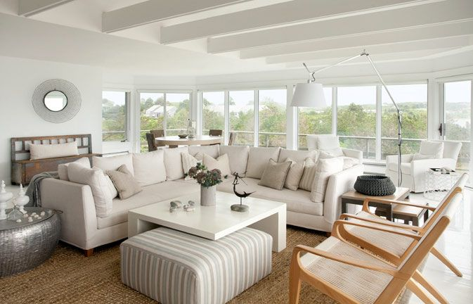 Fresh And Relaxing Beach House Design By Marthas Vineyard Interior