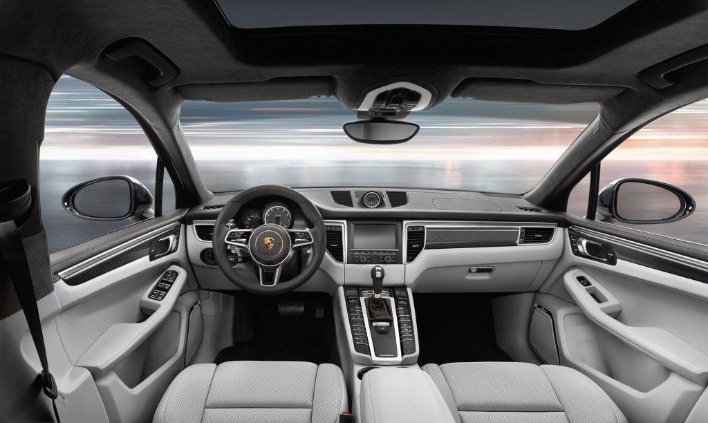 Elegant Porsche Macan Interior