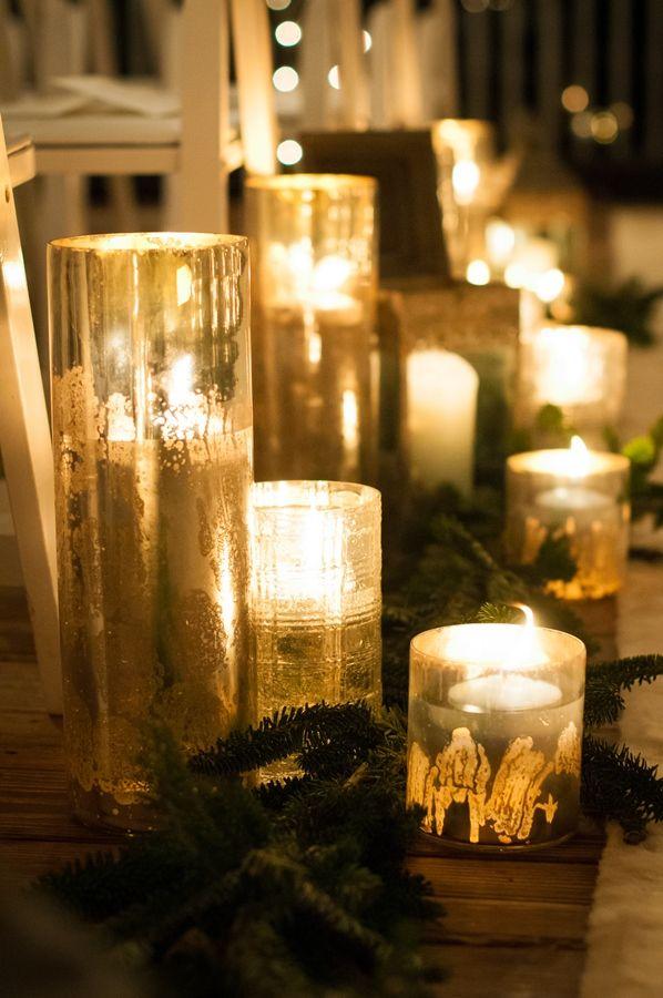 A Rustic Chic Winter Themed Wedding In North Carolina