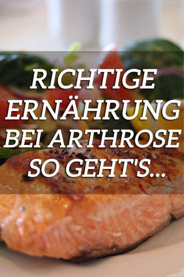 Die richtige Arthrose Ernährung. So stoppen Sie Arthrose! #nutritionhealthyeating