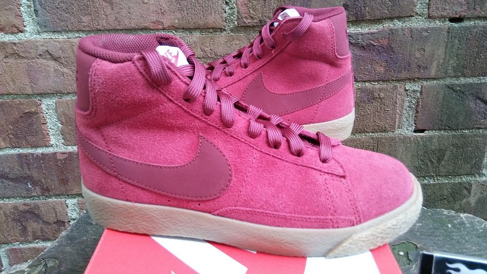 low priced a1683 5677e Nike Blazer Mid Team Red Youth Size 6.5 375490-601 Brand New!!  Nike   AthleticSneakers