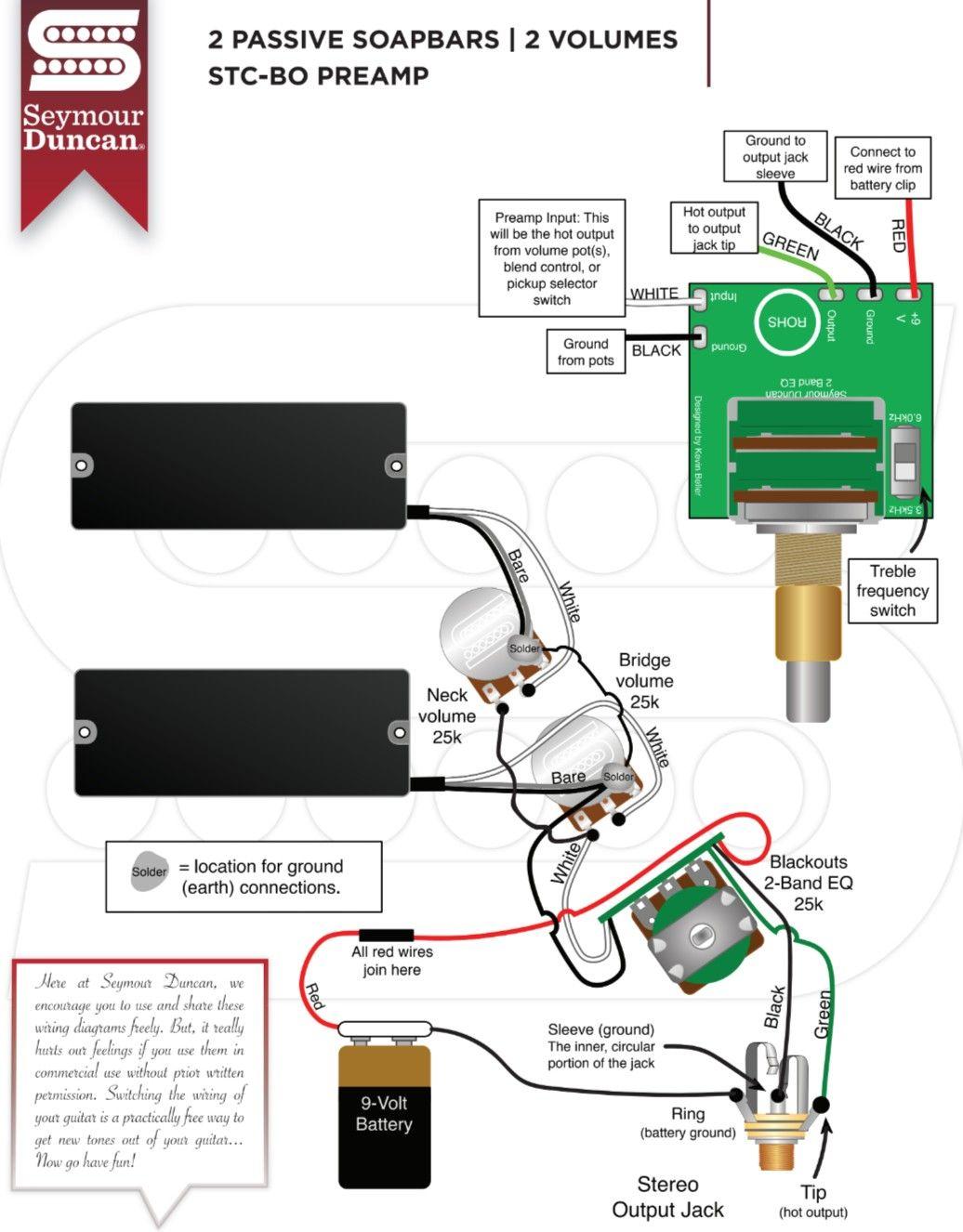 Active Bass Wiring Diagram
