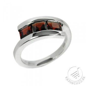 f2a21a416 Originálny dámsky prsteň s polodrahokamom Granát - RSG36069 | Šperky ...