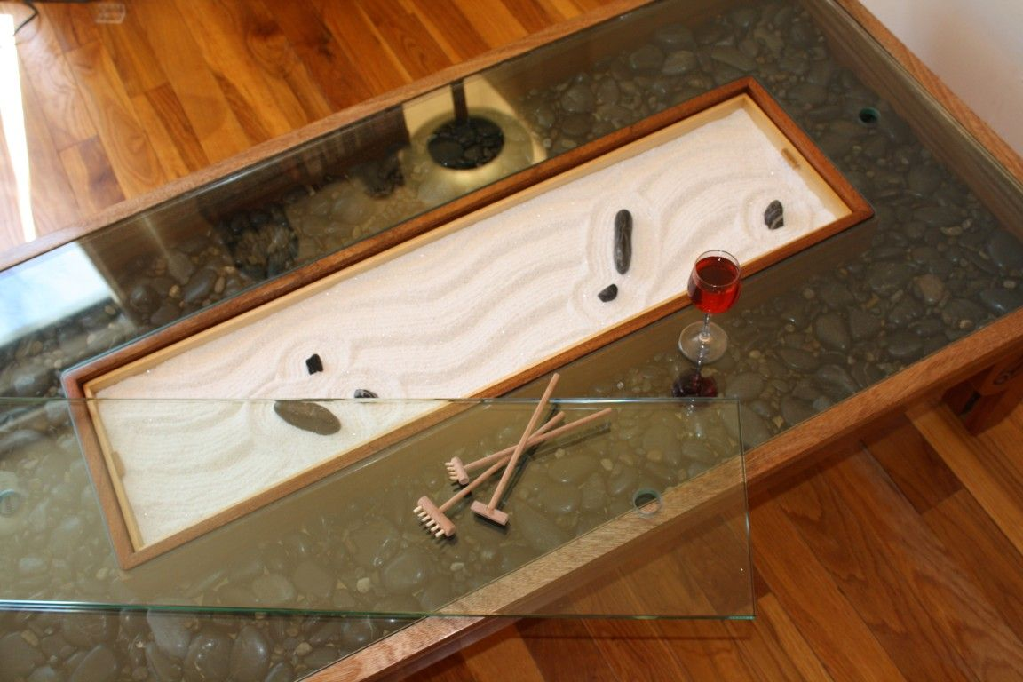 Zen garden coffee table! Keep calm draw on! Love it! | To make a ...