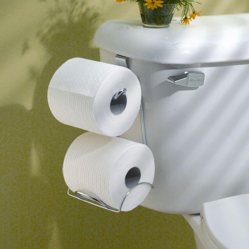 Toilet Paper Holder Strong Gift Home Decor Bathroom Tissue Roll Tank ...