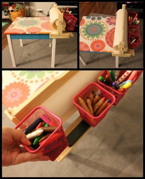 Mesa de trabalho (playroom)- Para a Artista Madalena com amor!